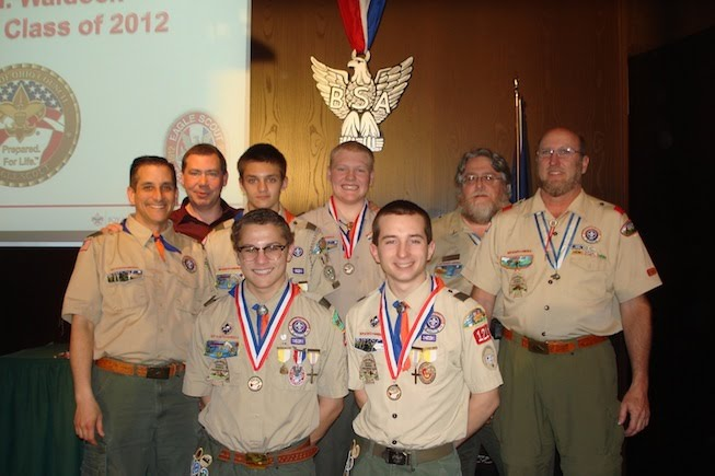 Eagle Scouts of 2012